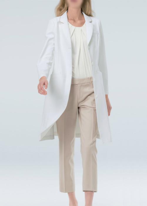 Naway ナウェイ ナガイレーベンEH-3710 女子ドクターコートS~EL医療ユニフォーム 診察衣 実験衣
