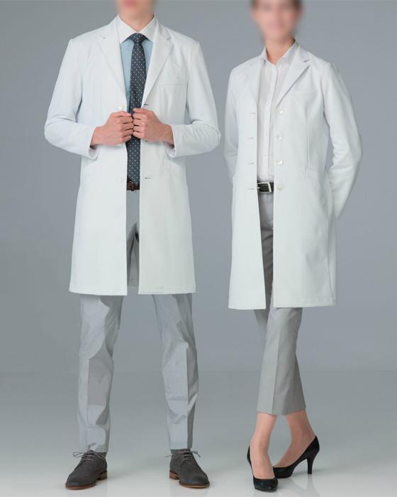 Naway ナウェイ ナガイレーベンSD-3000 男子シングルドクターコートS~BL医療ユニフォーム 診察衣 実験衣