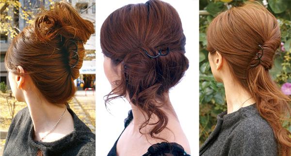 【インナーヘアアクセ】Wスティック -Pro- [就活 ヘアアクセサリー 使い方 簡単 まとめ髪 ヘアアレンジ 盛りヘア 作り方 通販 ヘアアレンジ動画]