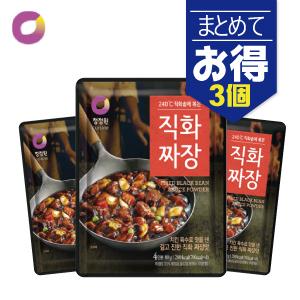 ソウル市場 韓国食品 韓国食材 韓国料理 完売 韓国調味料 直火ジャジャン粉末 清浄園 まとめセット 国際ブランド 3袋