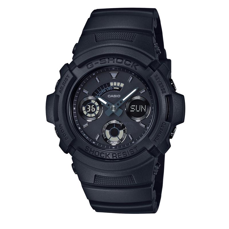 カシオ CASIO メンズ腕時計 G-SHOCK AW-591BB-1AJF ブラック/ブラック