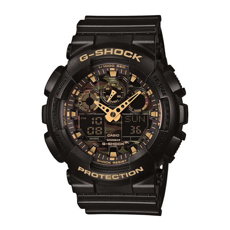 カシオ CASIO メンズ腕時計 G-SHOCK GA-100CF-1A9JF ブラック/ブラック