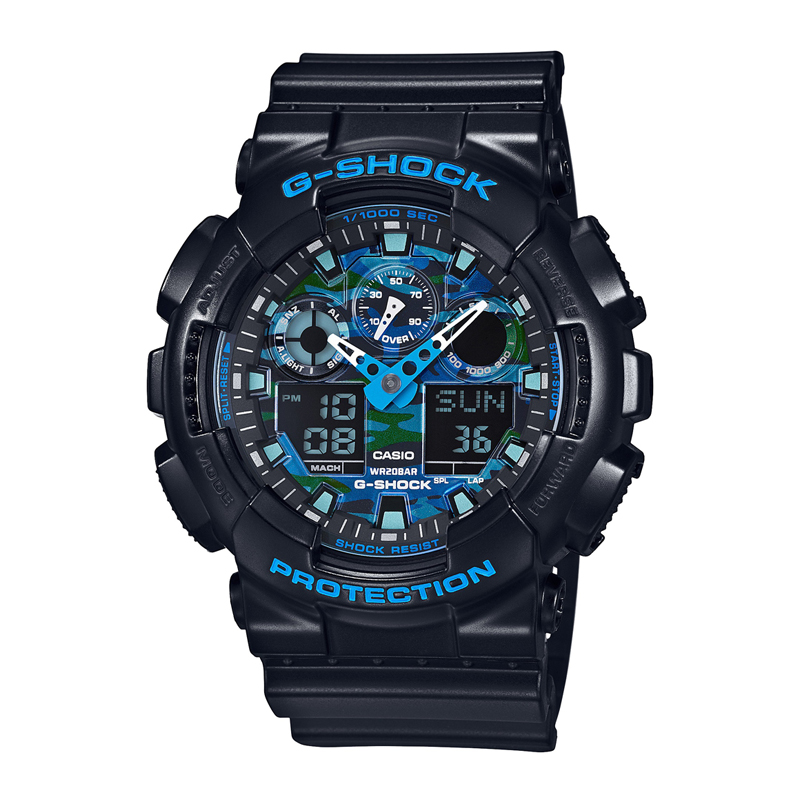 カシオ CASIO メンズ腕時計 G-SHOCK GA-100CB-1AJF ブラック/ブラック