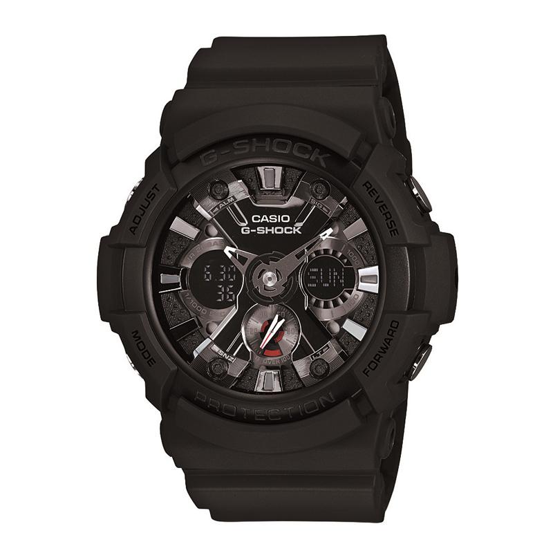 カシオ CASIO メンズ腕時計 G-SHOCK GA-201-1AJF ブラック/ブラック