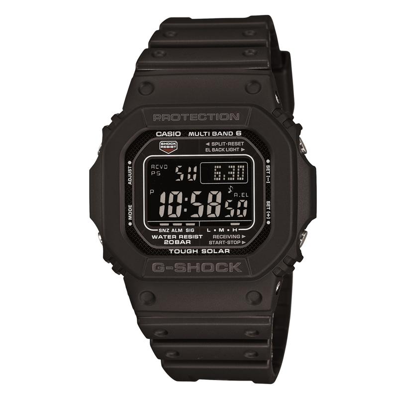 カシオ CASIO メンズ腕時計 G-SHOCK GW-M5610-1BJF ブラック/ブラック