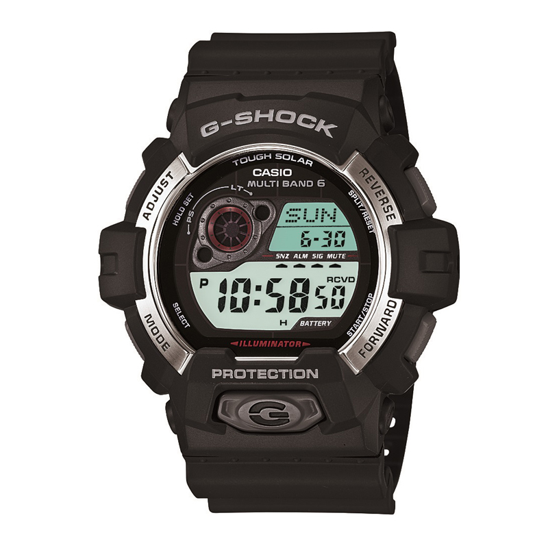 カシオ CASIO メンズ腕時計 G-SHOCK GW-8900-1JF ブラック/ブラック