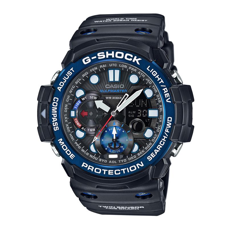 カシオ CASIO メンズ腕時計 G-SHOCK GN-1000B-1AJF ブラック/ブラック