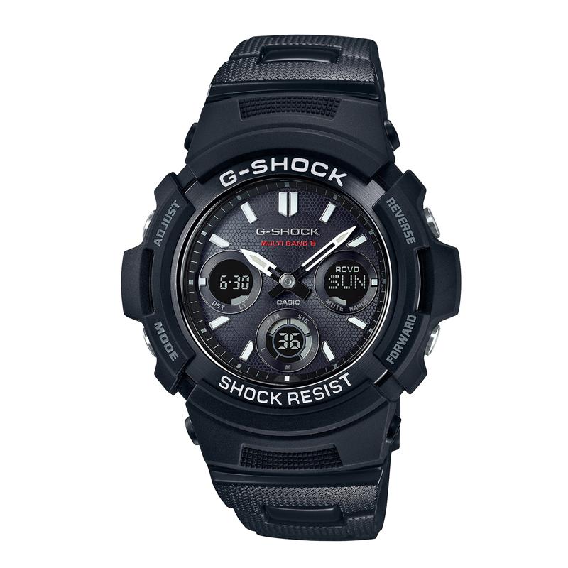 カシオ CASIO メンズ腕時計 G-SHOCK AWG-M100SBC-1AJF ブラック/ブラック