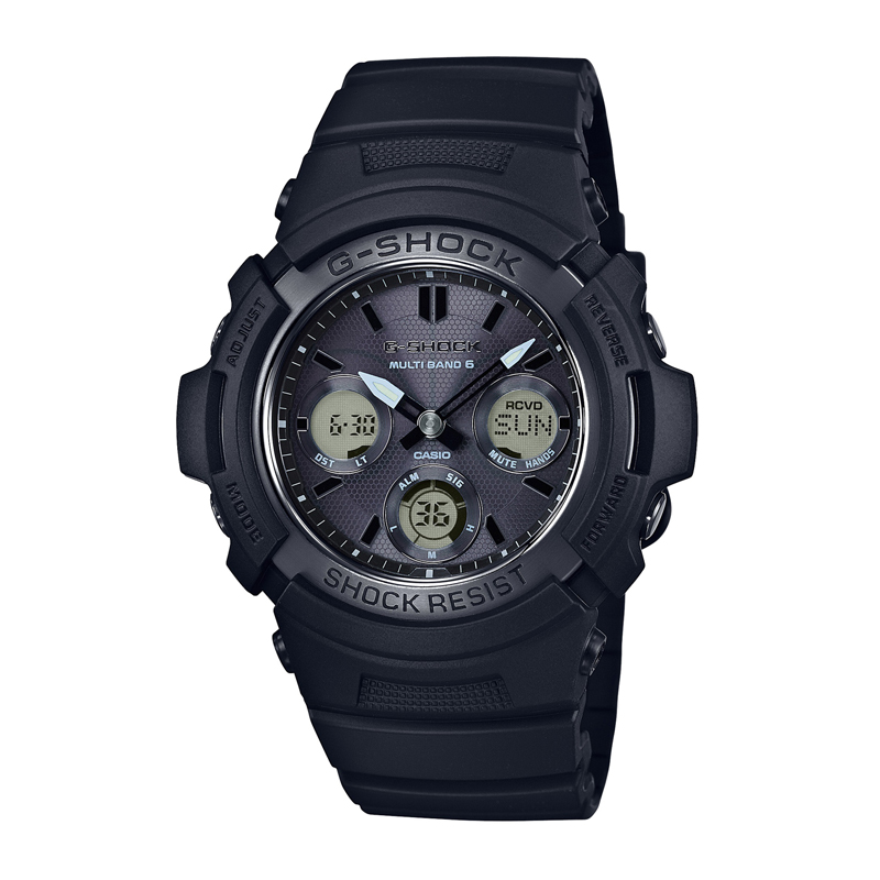 カシオ CASIO メンズ腕時計 G-SHOCK AWG-M100SBB-1AJF ブラック/ブラック