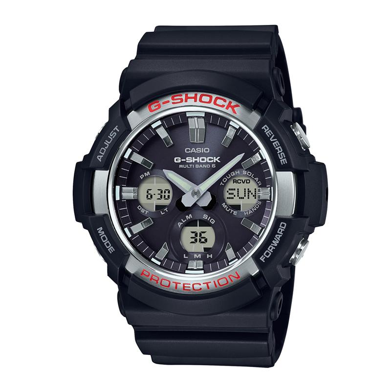 【店内全品送料無料~2/16】カシオ CASIO メンズ腕時計 G-SHOCK GAW-100-1AJF ブラック/ブラック