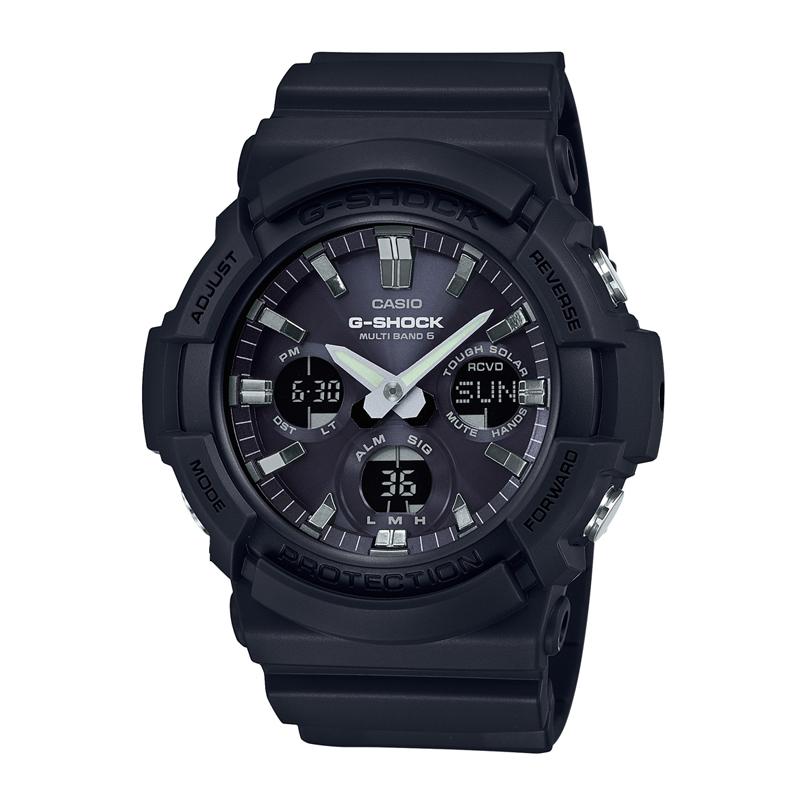 カシオ CASIO メンズ腕時計 G-SHOCK GAW-100B-1AJF ブラック/ブラック