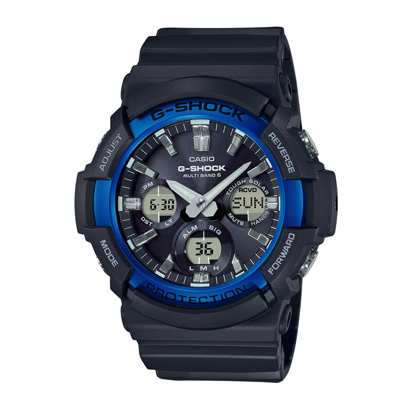 カシオ CASIO メンズ腕時計 G-SHOCK GAW-100B-1A2JF ブラック/ブラック