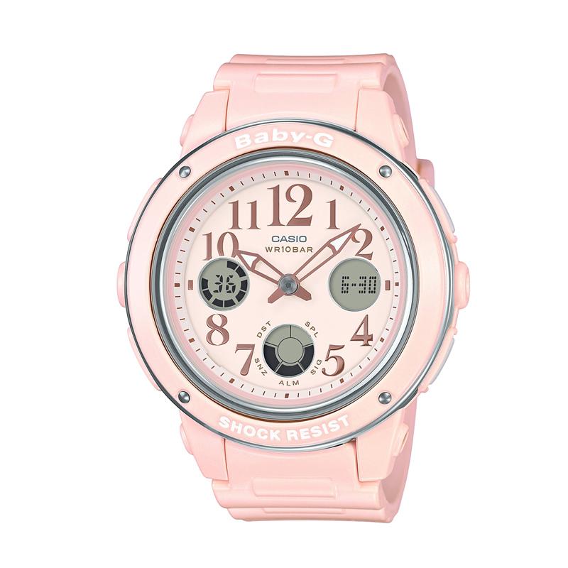 カシオ CASIO レディース腕時計 BABY-G BGA-150EF-4BJF ピンク/ピンク