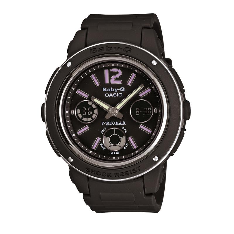 カシオ CASIO レディース腕時計 BABY-G BGA-150-1BJF ブラック/ブラック