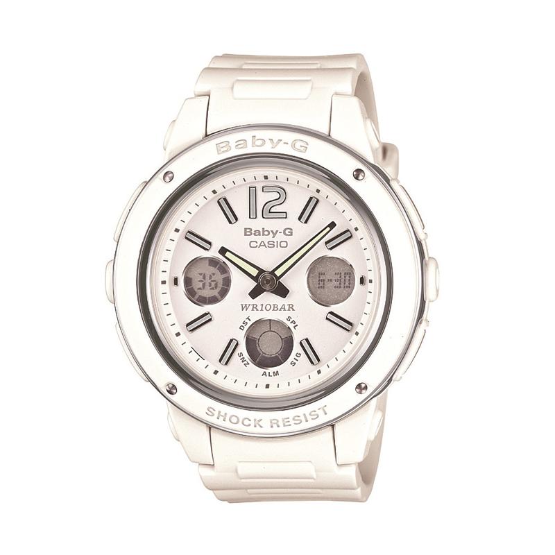 カシオ CASIO レディース腕時計 BABY-G BGA-150-7BJF ホワイト/ホワイト