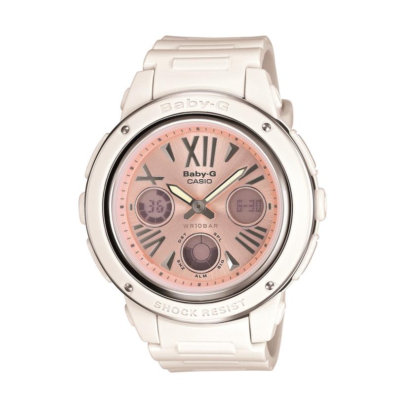 カシオ CASIO レディース腕時計 BABY-G BGA-152-7B2JF ピンク/ホワイト