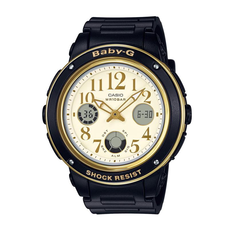 カシオ CASIO レディース腕時計 BABY-G BGA-151EF-1BJF ゴールド/ブラック
