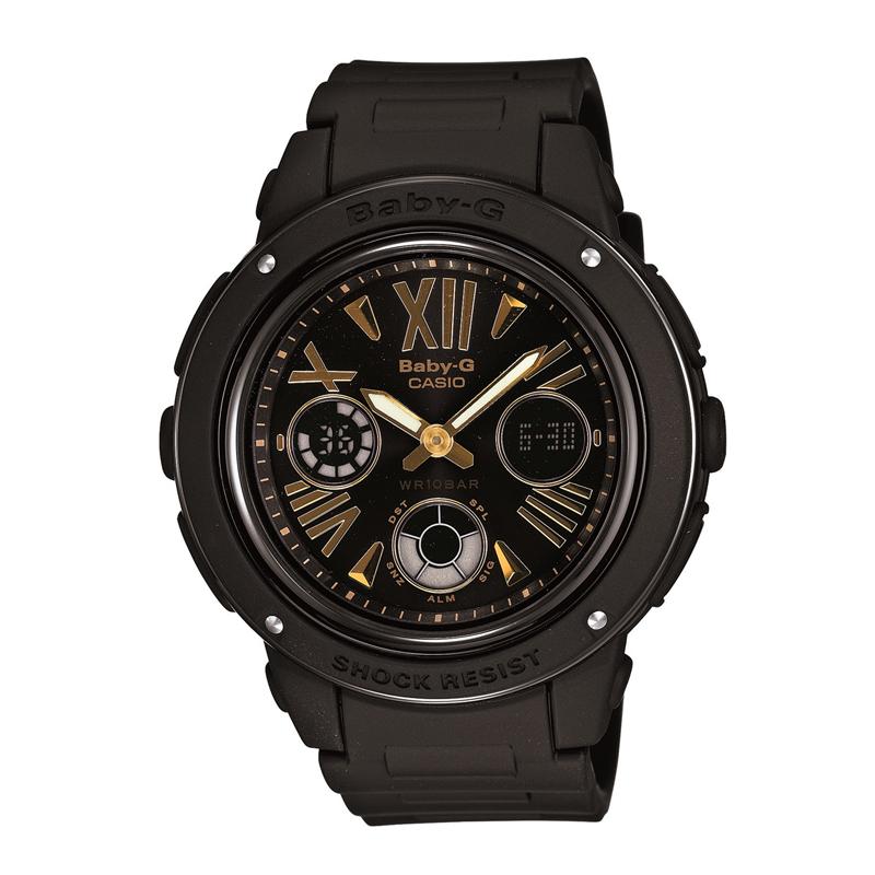 カシオ CASIO レディース腕時計 BABY-G BGA-153-1BJF ブラック/ブラック