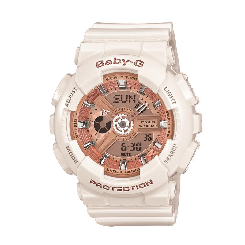 カシオ CASIO レディース腕時計 BABY-G BA-110-7A1JF ピンク/ホワイト