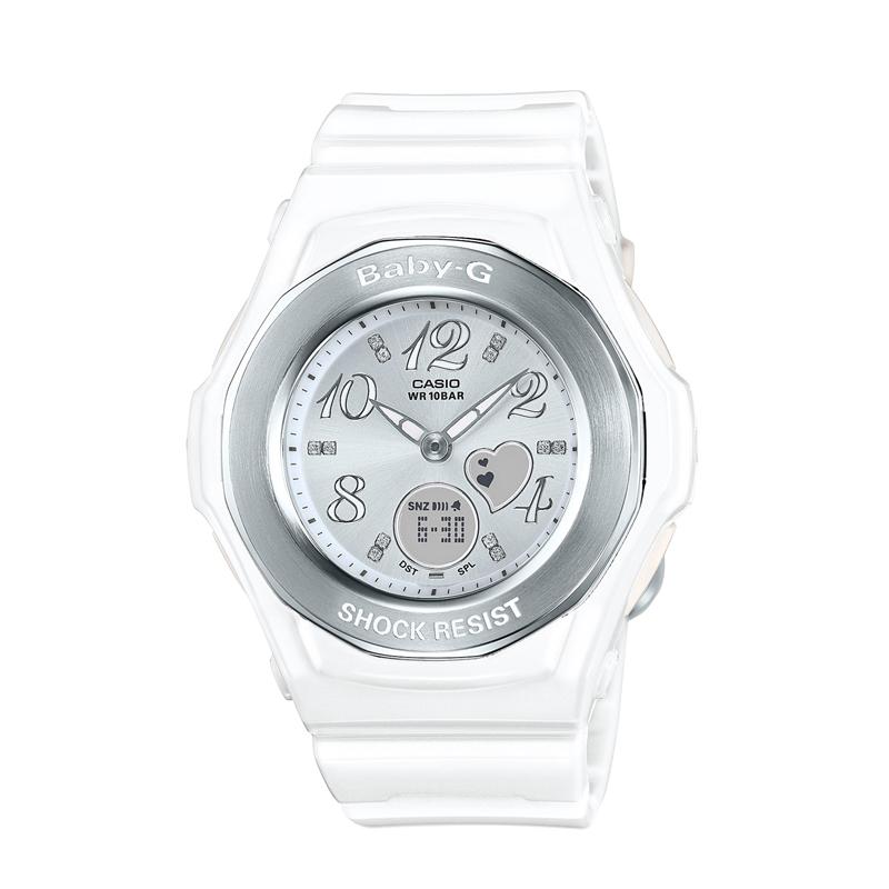 カシオ CASIO レディース腕時計 BABY-G BGA-100-7B3JF ホワイト/ホワイト