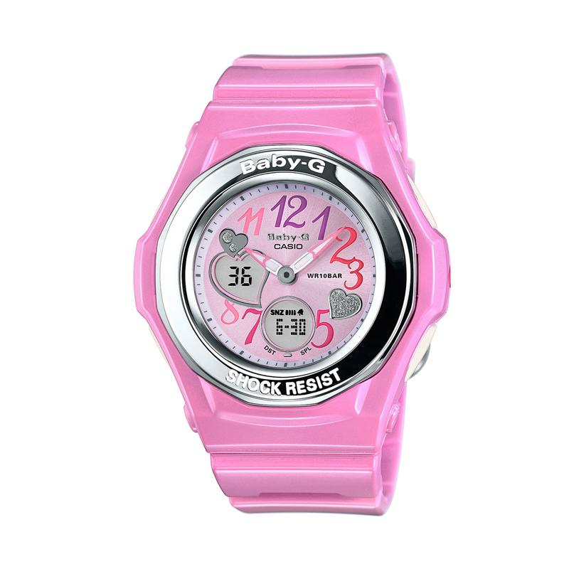 カシオ CASIO レディース腕時計 BABY-G BGA-101-4B2JF ピンク/ピンク
