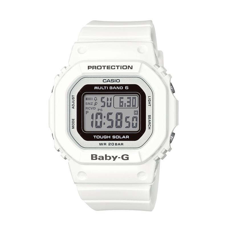 カシオ CASIO レディース腕時計 BABY-G BGD-5000-7JF ホワイト/ホワイト
