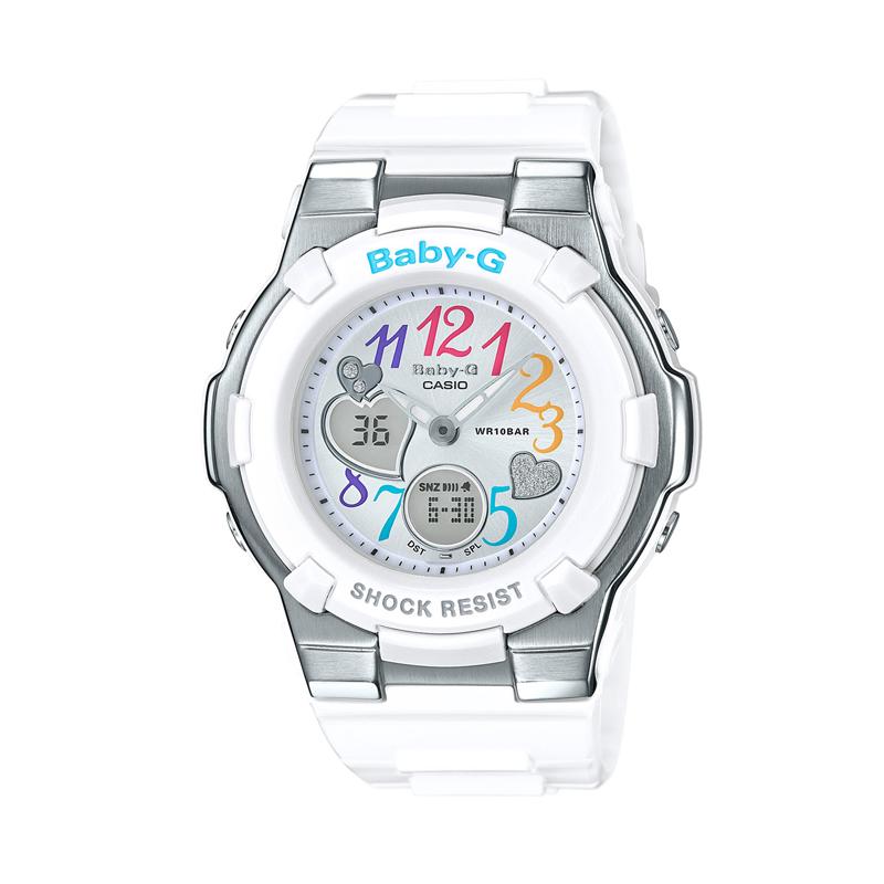 カシオ CASIO レディース腕時計 BABY-G BGA-116-7B2JF ホワイト/ホワイト