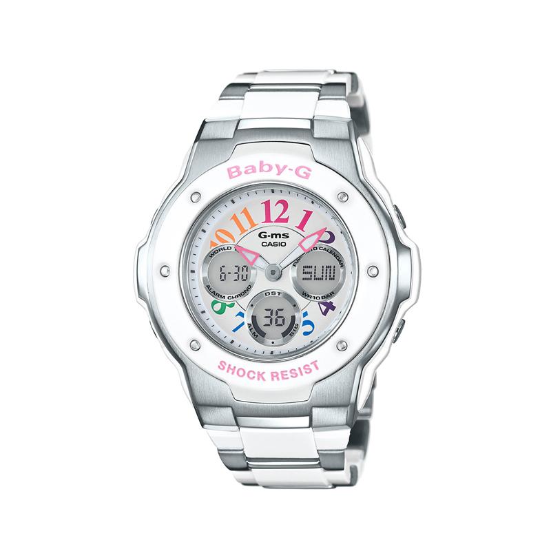 カシオ CASIO レディース腕時計 BABY-G MSG-302C-7B2JF ホワイト/ホワイト