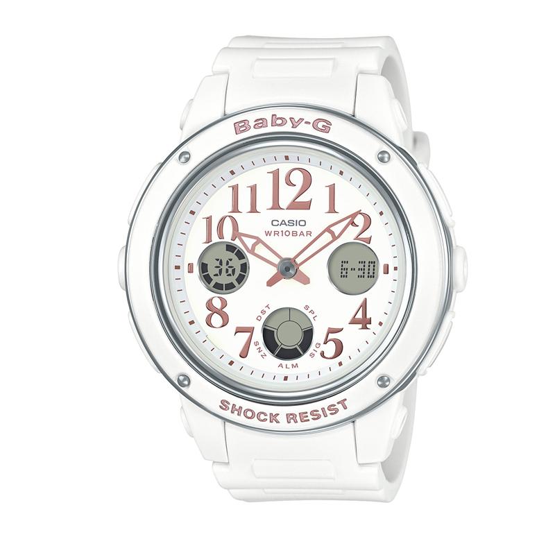 カシオ CASIO レディース腕時計 BABY-G BGA-150EF-7BJF ホワイト/ホワイト