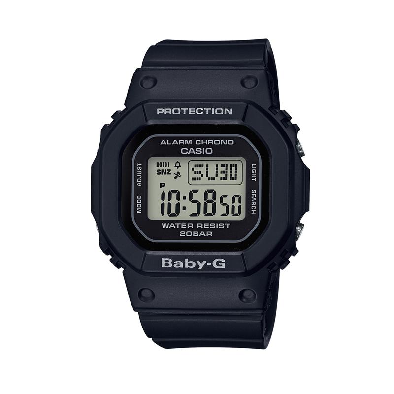 カシオ CASIO レディース腕時計 BABY-G BGD-560-1JF ブラック/ブラック