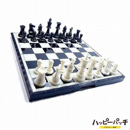 特大 高級マグネットチェスセット 折り畳みチェス盤 HB-336 チェスボード37cm Chess アンティーク風 あす楽 宅配便のみ