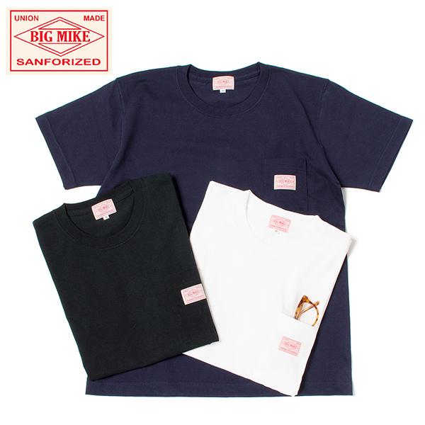 SUNGLASSES POCKET TEE 送料無料新品 ヘビーオンス BIG 商店 Tシャツ サングラスポケット MIKE ビッグマイク 7.2oz