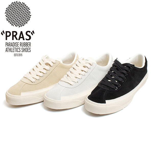 UP-CYCLE Series レザースニーカー PRAS-UP01-SUEDE PRAS スーパーセール スニーカー スエード プラス B.R.N 返品送料無料 ローカット SUEDE