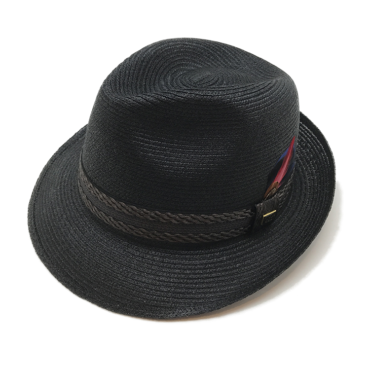 【KNOX】リネンブレードハット帽子 大きい サイズ KNOX ノックス 日本製 ハット メンズ 春 夏 リネン ブレードハット 天然素材 ブラック ネイビー グレー おしゃれ こだわり 【 ラッピング 送料無料 】 父の日 ギフト プレゼント