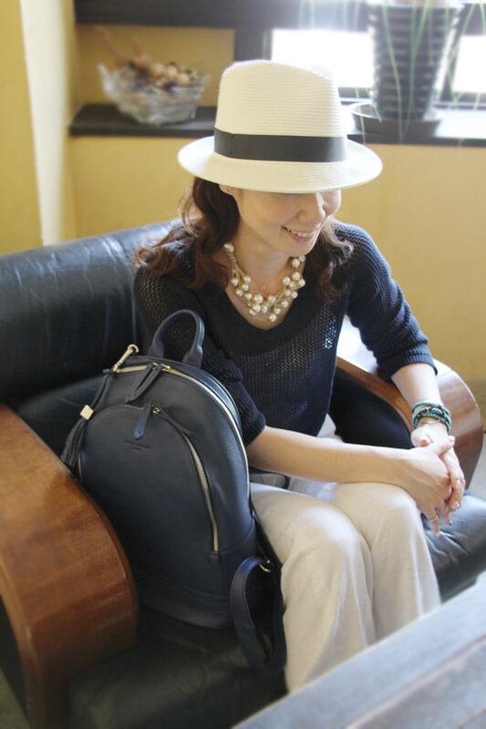 吕克 · 女士皮革背包成人包袋,附件和配件 / 女士包 / 背包 / 背包 / 皮革 /HAYNI / 哈尼族 /