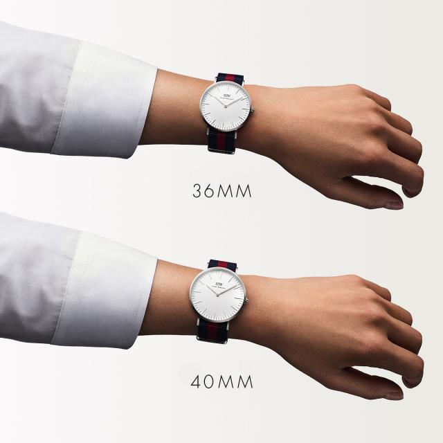 e82c9154fd7e ... Arrival undecided Daniel Wellington Daniel Wellington watch men gap Dis  36mm classical music Oxford silver fashion ...