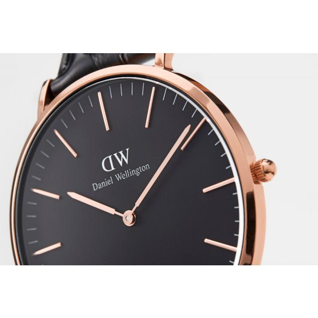 218caeb952897 Daniel Wellington clock regular article dealer DanielWellington watch men  gap Dis 36mm classical music black Sheffield Rose fashion watch Classic  Black ...