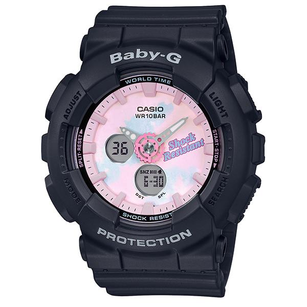 カシオ 腕時計 正規 ベビーG CASIO BABY-G 時計 レディース ウオッチ サマー・グラデーション・ダイアル BA-120T-1AJF 国内正規品【送料無料】【P05】【ギフト】