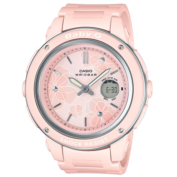 今なら Xmasラッピングorパワーストーンを無料でお付けします 当店は カシオ BABY-G 着後レビューで 送料無料 正規取扱店 です メッセージボトルプレゼント 腕時計 正規 ベビーG 時計 レディース ギフト 国内正規品 ウオッチ 返品不可 フローラルダイアル BGA-150FL-4AJF P02 FloralDial 送料無料 CASIO