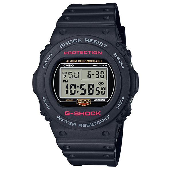 カシオ 腕時計 正規 Gショック CASIO G-SHOCK ジーショック 時計 メンズ ウオッチ 35周年記念 35th Anniversary DW-5750E-1JF 国内正規品【送料無料】【P05】【ギフト】