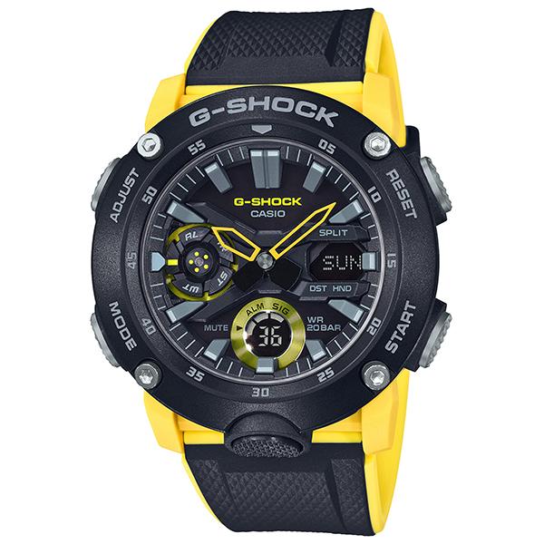 カシオ 腕時計 正規 Gショック CASIO G-SHOCK ジーショック 時計 メンズ ウオッチ Carbon Core Guard Basic カーボンコアガード GA-2000-1A9JF 国内正規品【送料無料】【P05】【ギフト】