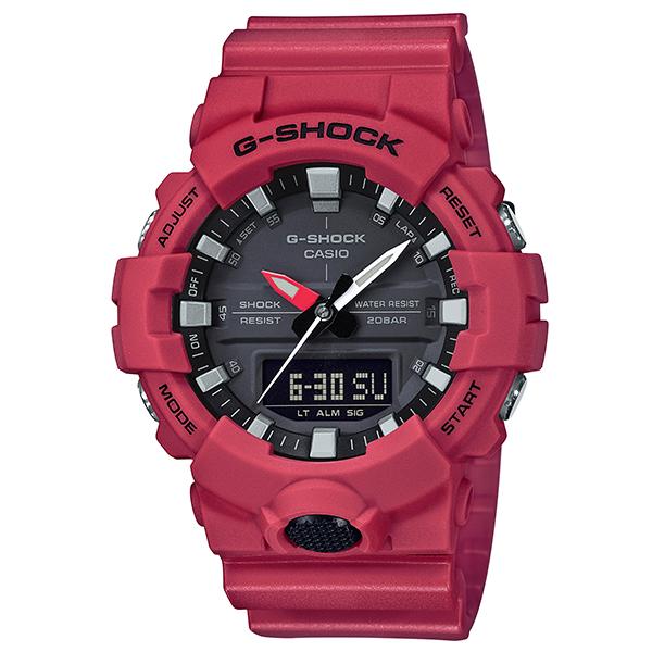 今なら Xmasラッピングorパワーストーンを無料でお付けします 当店は カシオ G-SHOCK 正規取扱店 です メッセージボトルプレゼント 腕時計 正規 Gショック メンズ 人気上昇中 送料無料 ジーショック GA-800-4AJF 国内正規品 ギフト P02 無料 ウオッチ 時計 CASIO