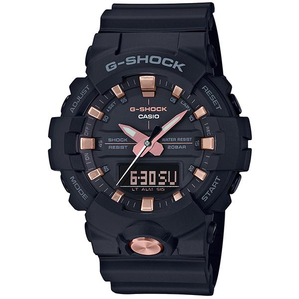 今なら Xmasラッピングorパワーストーンを無料でお付けします 当店は 2020モデル カシオ G-SHOCK 正規取扱店 です メッセージボトルプレゼント 腕時計 正規 大幅にプライスダウン Gショック CASIO ゴールド ウオッチ 時計 P02 ブラック 国内正規品 メンズ 送料無料 ギフト GA-810B-1A4JF ジーショック
