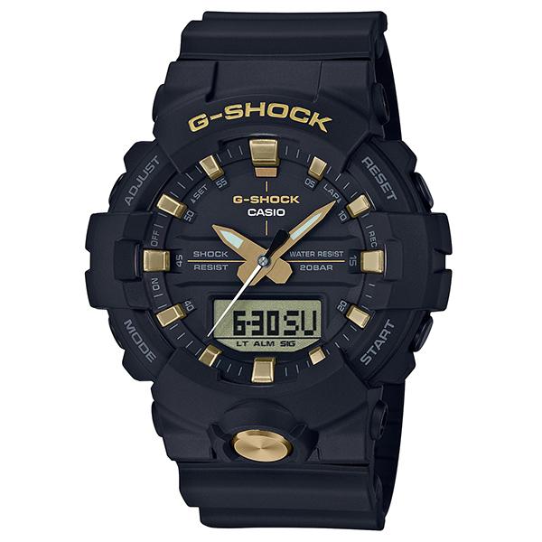 今なら Xmasラッピングorパワーストーンを無料でお付けします 当店は カシオ G-SHOCK 正規取扱店 未使用品 です メッセージボトルプレゼント 腕時計 正規 Gショック CASIO ブラック 時計 ゴールド メンズ 国内正規品 ウオッチ ギフト GA-810B-1A9JF ジーショック P02 送料無料 期間限定今なら送料無料