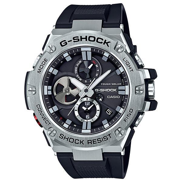 カシオ 腕時計 正規 Gショック CASIO G-SHOCK ジーショック 時計 メンズ ウオッチ G-STEEL Bluetooth® スマートフォンリンク GST-B100-1AJF【国内正規品】【送料無料】【ギフト】【P02】
