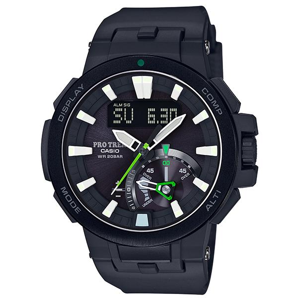 カシオ 腕時計 正規 プロトレック CASIO PRO TREK 時計 メンズ ウオッチ マルチフィールドライン トリプルセンサー アウトドアギア PRW-7000-1AJF 国内正規品【送料無料】【P05】【ギフト】