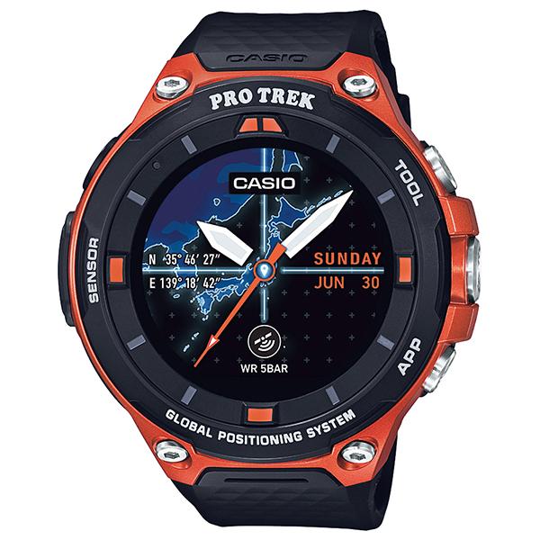 カシオ スマートウオッチ 腕時計 メンズ スマートアウトドア ウォッチ プロトレック スマート CASIO Smart Outdoor Watch PRO TREK Smart WSD-F20-RG 国内正規品【送料無料】【P02】【ギフト】
