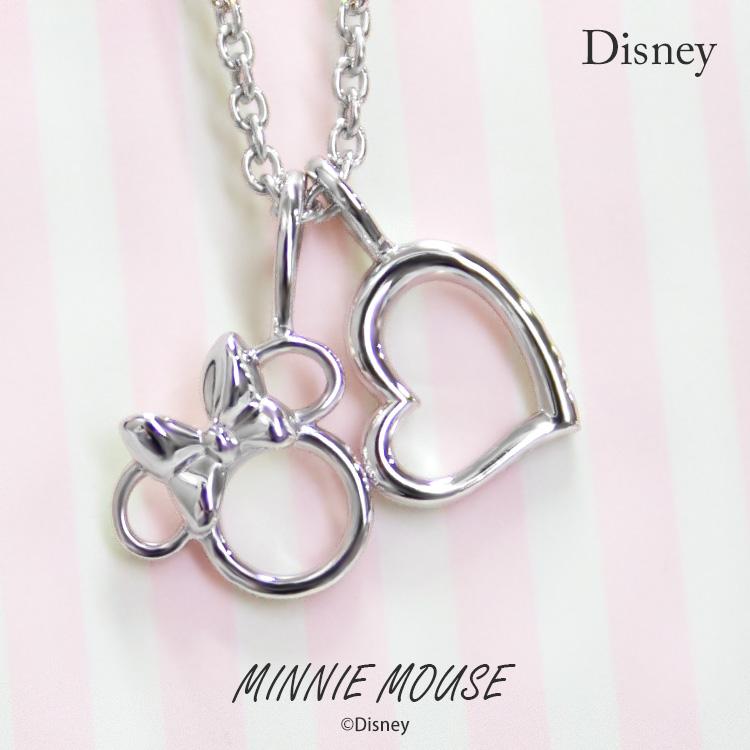 887c43f17 Sweet tea time: Disney necklace Disney Minnie Mouse heart silver jewelry  accessories Lady's pendant necklace VPCDS20170 mini regular article    Rakuten ...