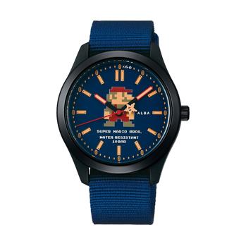 スーパーマリオ 腕時計 メンズ レディース セイコー アルバ SEIKO ALBA×SUPER MARIO コラボレーション ウオッチコレクション アクティブ マリオ ACCK422 正規品【P02】【ギフト】