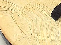 ! 手工缝制的榻榻米,面临市松黑色 L 大小 s22 别致奢华手工榻榻米面临皮革底凉鞋和服鞋类制造商平井原 10P10Jan15 ★ (和服浴衣节日大皮革牛皮皮革底皮革唯一凉鞋凉鞋鞋类鞋类垫 tatamiomote)